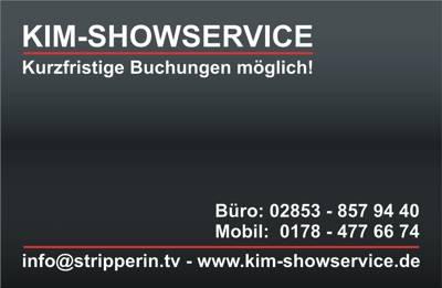 Visitenkarte Kim Showservice