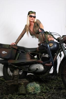 Army Bikerin