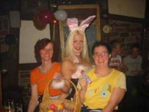 Bunny mit Gästen