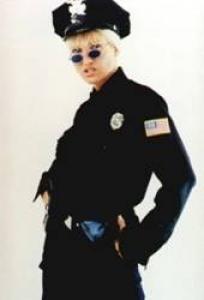 weiblicher US Cop Mandy