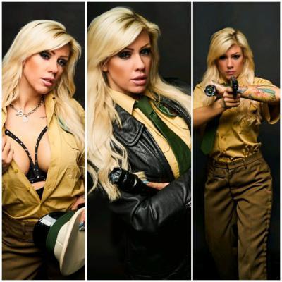sexy Polizistin
