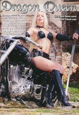 Kim Dragon Queen in Bikers News