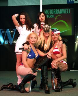 Messehostess Motorradwelt