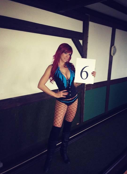 hot Nummerngirl Nr. 6